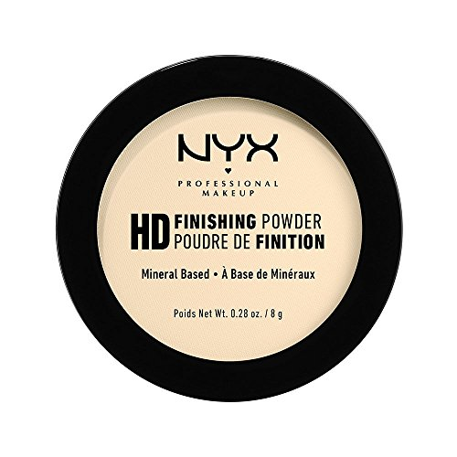 NYX Professional Makeup High Definition Finishing Powder, Gepresstes Puder, Perfektionierte Haut,...