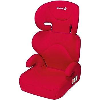 Safety 1st Road Safe Kindersitz, mit verstellbarer Kopfstütze und Rückenlehne, komfortabler Gruppe 2/3 Autositz (15-36 kg), nutzbar ab 3,5 bis 12 Jahre, rot