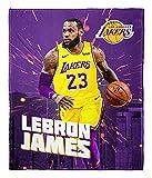 Lebron James LA Lakers Silk Touch Throw Blanket 50'X60'