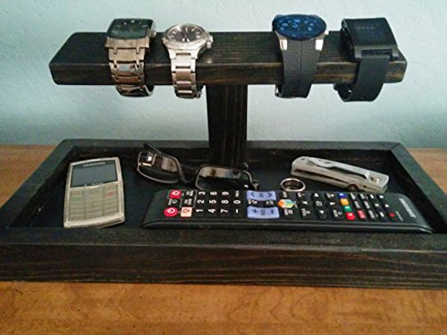 Phone tray, watch holder, and other pocket stuff organizer - The Gentleman's Catch All Organizer