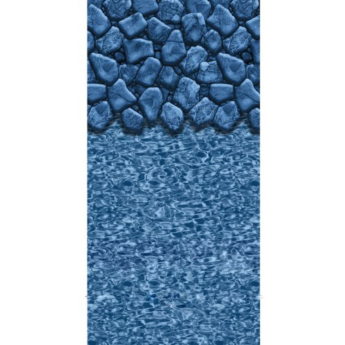 Swimline Round Boulder Swirl Beaded Pool Liner, 52-Inch Deep, 24-Feet