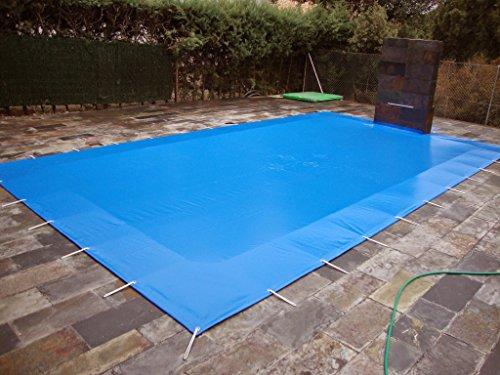 Winterabdeckung für Schwimmbad In den Pool 6x3 Meter