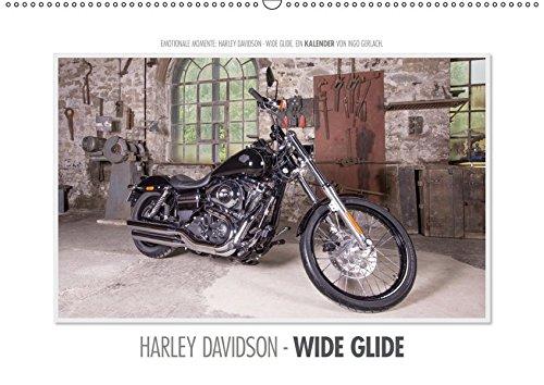 Emotionale Momente: Harley Davidson - Wide Glide / CH-Version (Wandkalender 2019 DIN A2 quer): Emotionale Momente auch bei der Produktfotografie für eine Harley. (Monatskalender, 14 Seiten )