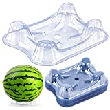 KXCOFTXI 25 Pieces Plastic Melon Cradle - Keep Watermelon Off of The Ground and Getting Moldy - Holds up to 20 lbs - Plastic Stand for Watermelon Pumpkin and Squash