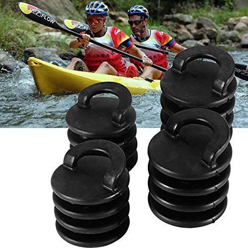 Tapones para kayak, tapones de drenaje, para kayak, canoa, barco, 4 unidades