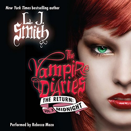 The Vampire Diaries: The Return: Midnight audiobook cover art
