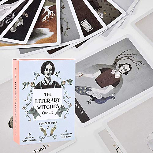 The Literary Witch Oracle: Help People To Know What Their Exact Life Purpose Is, Fate Forecasting Cards Game Set