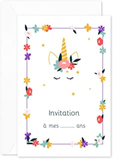 Amazon.fr : invitation anniversaire fille