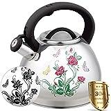 Best Whistling Tea Kettles - Tea Kettle for Stovetop Whistling Teakettle Tea Pot Review