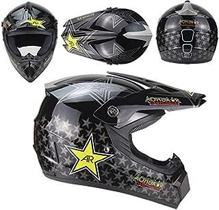 Leoie Motorcycle Adult Motocross Off Road Helmet ATV Dirt Bike MTB DH Racing Helmet