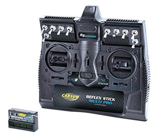 Carson 500501003 - Reflex Stick Multi Pro 2.4 GHz, 14 Kanal