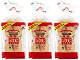 Joseph's Low Carb MINI Pita Bread 3-Pack, Flax, Oat Bran and Whole Wheat, 5g Carbs Per Serving (8...