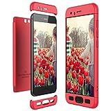 CE-LINK Housse Etui en PC Matière pour Huawei Honor 9, Coque Non Slip Surface & Electro Placage -...