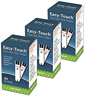 Easy-Touch Glucose Test Strips 50 Count (3pack)