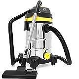 Monzana aspiradora en seco y húmedo 30L 1800W 3 filtros Acero inoxidable...