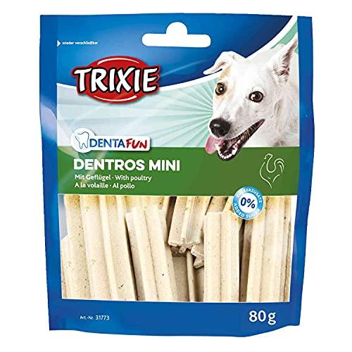 Trixie 31773 Denta Fun Dentros Mini mit Geflügel, 80 g