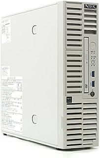 NEC Express5800/T110j-S Xeon E-2126G 3.3GHz 32GB 600GBx3台(SAS2.5インチ/12Gbps/RAID5構成) DVD-ROM AC*2 MegaRAID 946N-8i 2G