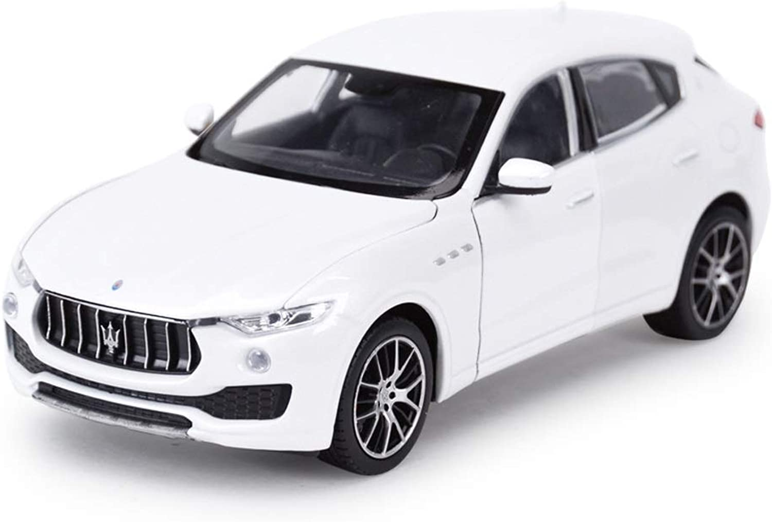 Maisto 1 24 Scale Maserati Levante Model Diecast Vehicles Cars Models Toy For Kids Gift Home Collection Decorative Scale Model Simulation Vehicle ( color   White )