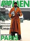 2021-2022 A/W gap PRESS MEN vol.62 PARIS (gap PRESS Collections)