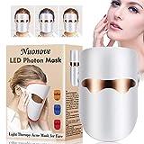 Lichttherapie Maske Akne, LED Gesichtsmaske, Anti Akne...