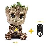 J.AKSO Baby Groot Blumentopf/Stiftehalter/Wohnkultur,Nettes Zeichentrickfigur Innovative Action-Figur,Bestes Feriengeschenk für Kinder, Paare, Freunde(Groß)