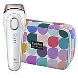 Braun Silk-expert 5 BD 5006 IPL Haarentfernungsgerät, sichere IPL-Technologie für dauerhafte Haarentfernung für Frauen/Männer, mit Kapitza-Aufbewahrungstasche In Limitierter Edition, weiß/gold