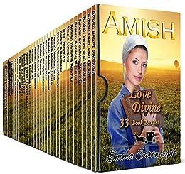 Amish Love Divine Boxset: Bumper Amish Romance - 33 Book Box Set by [Emma Cartwright]