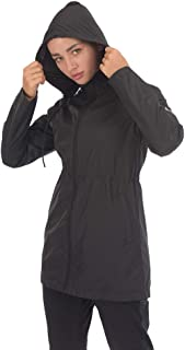 ARCHAEUS Women's Full-Zip Training Slim Fit Sports Athletic Jacket Windproof Lightweight Coat S-XXL
