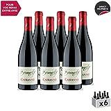 Cairanne Rouge 2018 - Domaine Brunely - Vin AOC Rouge de la Vallée du Rhône - Cépages Syrah, Grenache - Lot de 6x75cl