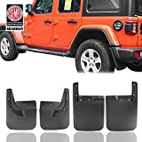 u-Box for 2018-2020 Jeep Wrangler JL Sahara Sport Sports (Exclude Rubicon) Fender Flares Front & Rear Mud Guards Kit