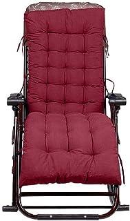 JYSD Tumbona Cojines, Almohada de Recambio for sillas reclinables reclinables Relaxer Corbata Cojín de ratón de Asientos D5/12 (Color : Red)