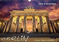 Berlin kann auch schoen (Wandkalender 2022 DIN A3 quer): Berliner Architektur und Landschaften (Monatskalender, 14 Seiten )