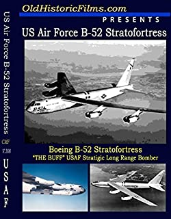 Boeing B-52 Stratofortress SAC Bomber old film collection by USAF