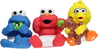 Sesame Street Friends Bath Tub Squirter 3-Pack with Cookie Monster, Elmo & Big Bird