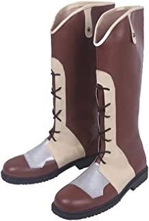 DUNHAO COS Anime Fire Emblem Echoes Shadows of Valentia Cosplay School Custom Shoes Boots