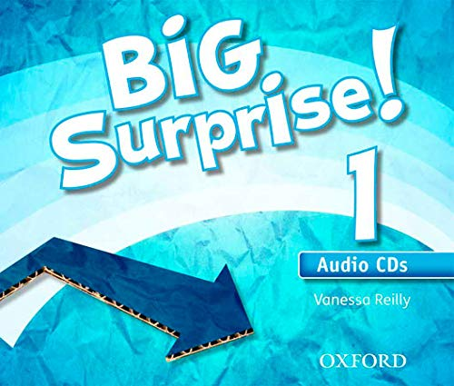 Big Surprise 1: Class CD (3) - 9780194516440