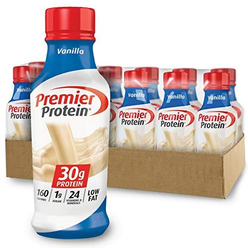 Premier Protein 30g Protein Shake, Vanilla, 14 Fl Oz (Pack of 12) bottle