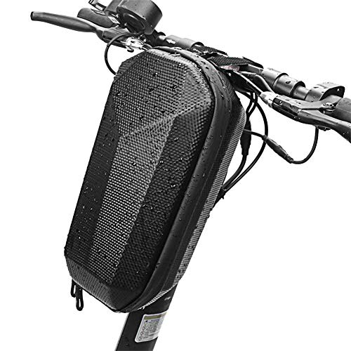 Clevoers - Bolsa de Almacenamiento para Patinete eléctrico, Impermeable, Bolsa de Transporte, Bolsa de Manillar de Bicicleta, Plegable, Impermeable, EVA