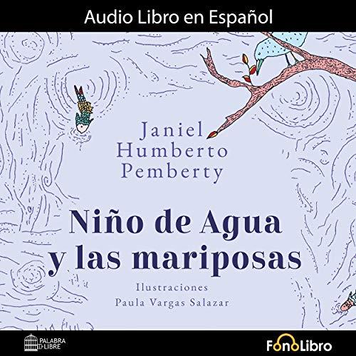 Diseño de la portada del título Niño de Agua y las Mariposas