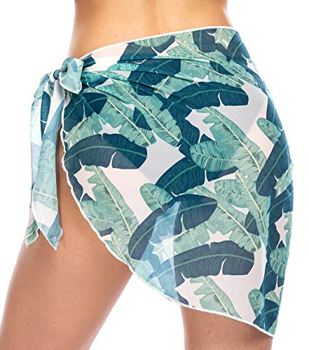 Ekouaer-Womens-Beach-Short-Sarong-Sheer-Chiffon-Cover-Up-Soild-Color-Swimwear-Wrap-S-3XL
