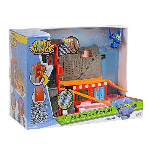Super Wings Superwings Playset-New York City Pack'N'Go, YW710820