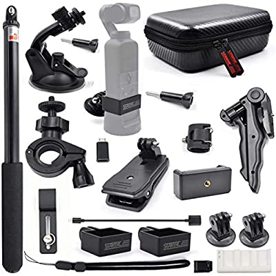 STARTRC OSMO Pocket Expansion Accessories Kit, Handheld Action Camera Mounts for DJI OSMO Pocket Cameras Accessories from STARTRC
