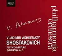 Festive Overture Op 96 / Sym 5 in D Major Op 47 by DIMITRI SHOSTAKOVICH (2008-11-25)