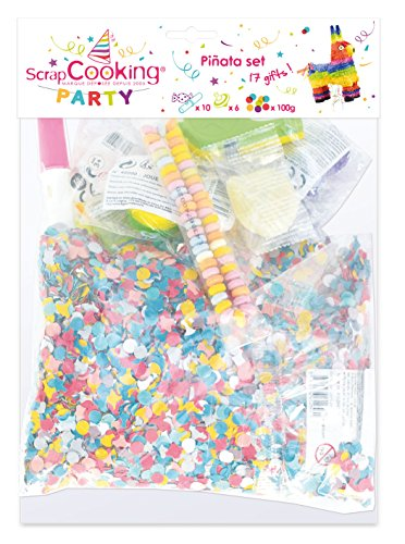 SCRAP COOKING Party - 0422 - Lot de Pinta Jouets et Bonbons - 16 Pièces