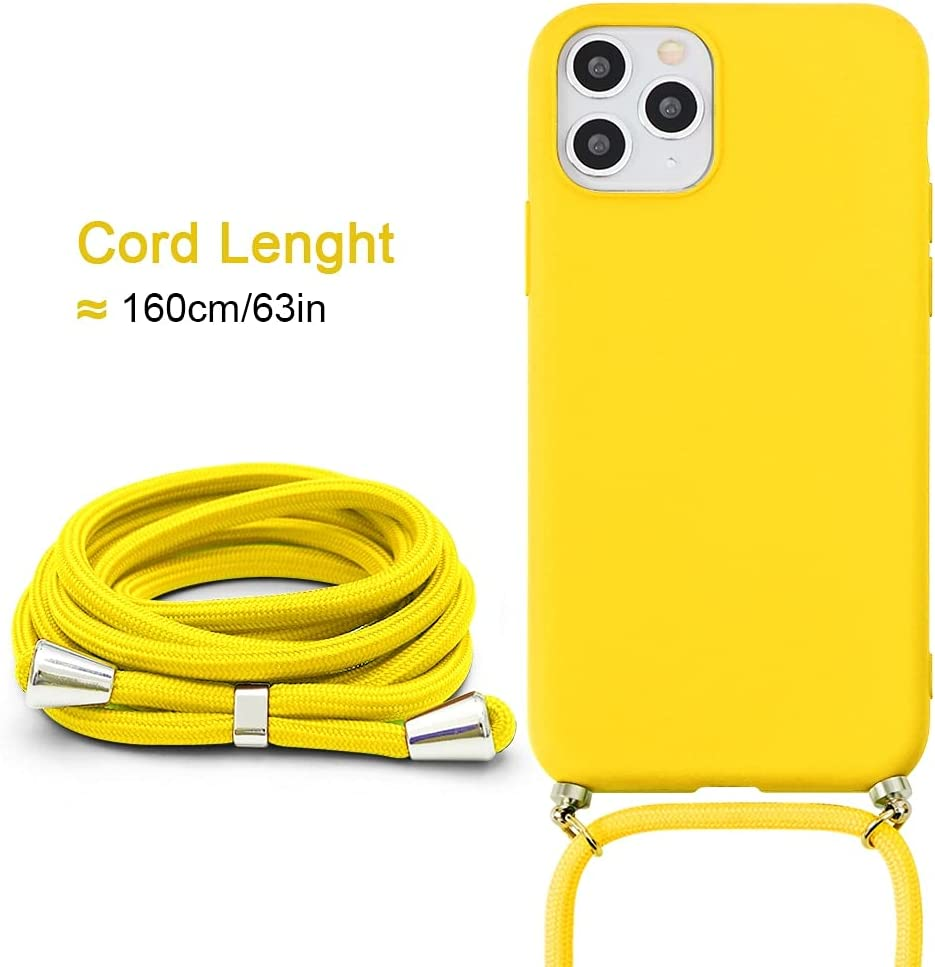Yoedge Crossbody Case for Huawei nova 8 Pro (4G - 5G), Neck Cord Phone Case with Adjustable Lanyard Strap, Soft TPU Silicone Shock-Proof Cover Compatible with Huawei nova 8 Pro [6.72