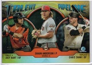 2019 Bowman Talent Pipeline #TP-SFG Chris Shaw//Shaun Anderson//Joey Bart San Francisco Giants Baseball Card