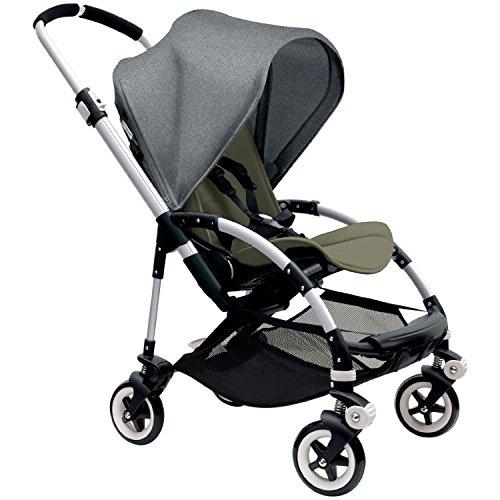 Amazing Deal Bugaboo Bee3 Stroller - Grey Melange - Dark Khaki - Aluminum
