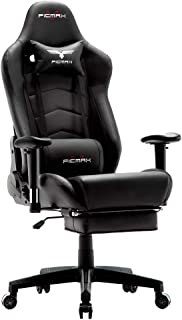 Ficmax Ergonomic Gaming Chair Massage Computer Gaming Chair Reclining Racing Office Chair..