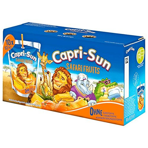 Capri Sun Safari, 2er Pack (2 x 2 l Getränkekarton)