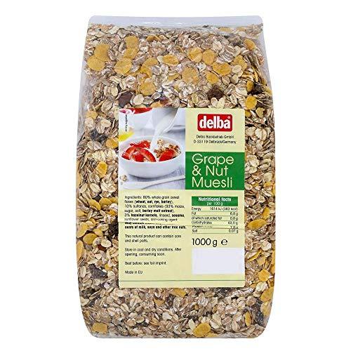 delba(デルバ) グレープ&ナッツミューズリー 1kg×10個セット